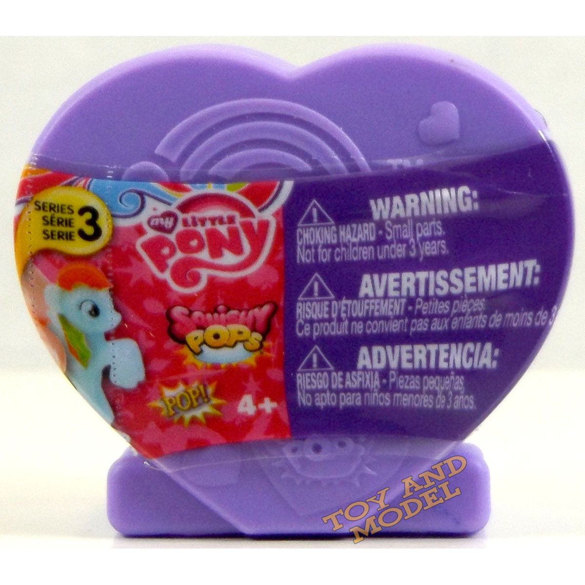 Mlp Squishy Toys : 5 Pack of My Little Pony Squishy Pops Heart Case Series 3 - Fast Dispatch 4Yrs+ eBay