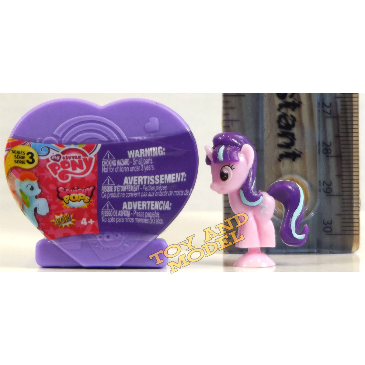 Toys R Us My Little Pony Squishy Pops : 5 Pack of My Little Pony Squishy Pops Heart Case Series 3 - Fast Dispatch 4Yrs+   ?12.99 ...