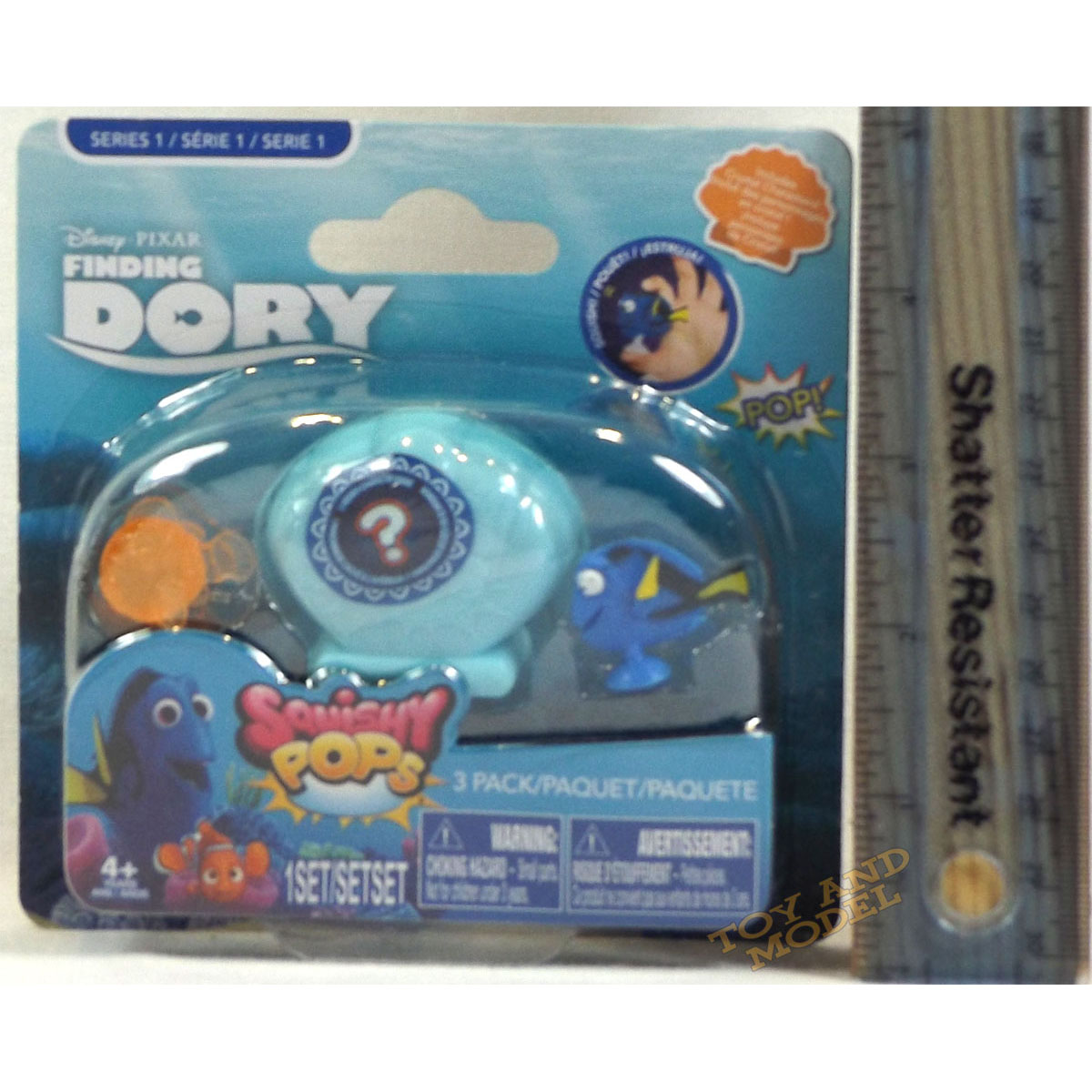 Squishy Pops At Toys R Us : Finding Dory Squishy Pops 3 Pack on Card (includes 1 Shell) UK Seller 4 Yrs+NEW eBay