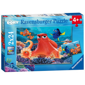 Finding Dory 2 x 24 pc jigsaw puzzle