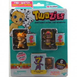 Twozies Friends Pack inc. Lofty and Ticky