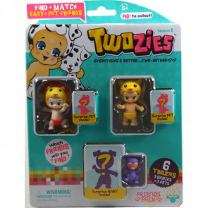 Twozies Friends Pack inc. Lucy and Lippy
