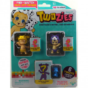 Twozies Friends Pack inc. Jangles and Milli