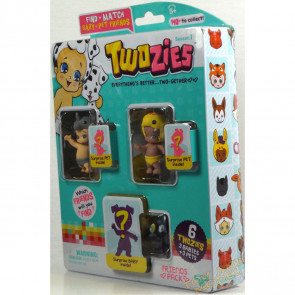 Twozies Friends Pack inc. Bumpy and Curly