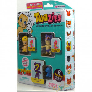 Twozies Friends Pack inc. Hunny and Jojo