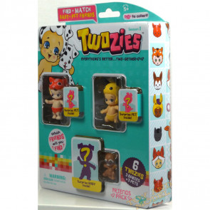 Twozies Friends Pack inc. Tracka and Hunny