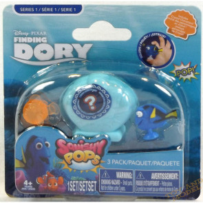 Disney Pixar Finding Dory Squishy Pops 3 Pack on Card