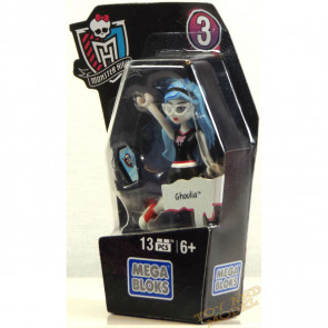 Mega Bloks Monster High Ghouls Skullection Ghoulia Mini Figure