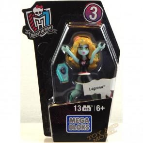 Mega Bloks Monster High Ghouls Skullection Lagoona Mini Figure