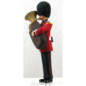 Corgi Icon Scots Guard Tuba Player Fine Metal Figure