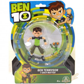 Ben 10 Action Figures - Ben 10 with Grey Matter