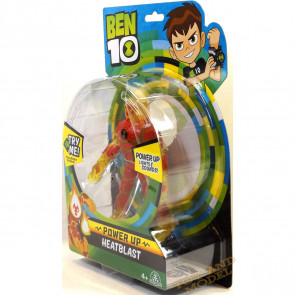 Ben 10 Deluxe Power Up Figures - Heatblast