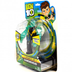 Ben 10 Deluxe Power Up Figures - Diamondhead
