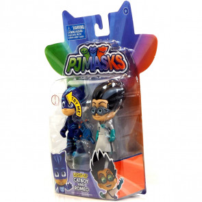 PJ Masks Hero Vs Villain 2 Figure Pack - Light-Up Catboy & Romeo