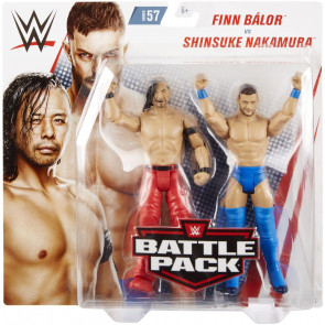 WWE Battle Pack 57 - Finn Balor vs Shinsuke Nakamura