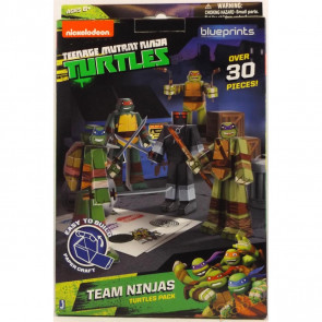 TMNT Papercraft ~ Team Ninjas Turtles Pack (30 Piece Set)