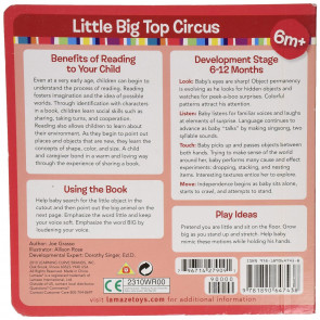 Lamaze Little Big Circus Board Book