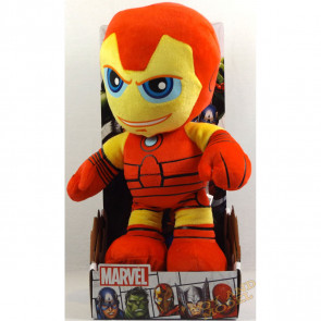 "Marvel Superhero Squad Chunky Iron Many 12"" Posh Paws Soft Toy"