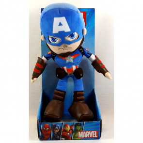 "Marvel Avengers 12""/30cm Captain America Super Hero Movie Soft Toy"