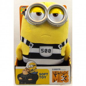 Despicable Me 3 - Jail Minion Tom Medium Boxed Plush