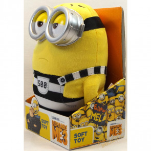 Despicable Me 3 - Jail Minion Tom Medium Boxed Plush Soft Toy