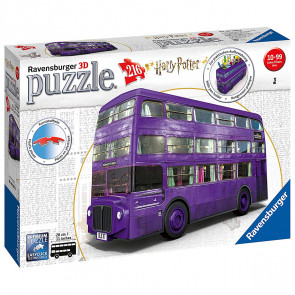 Ravensburger 3D Puzzle - Harry Potter Knight Bus 216pc
