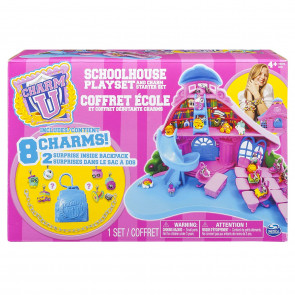 Charm-U School House Playset And Charm Starter Set - Includes 8 Charms