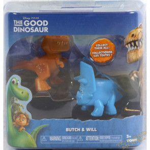Good Dinosaur Mini Figure 2 Pack Butch & Will