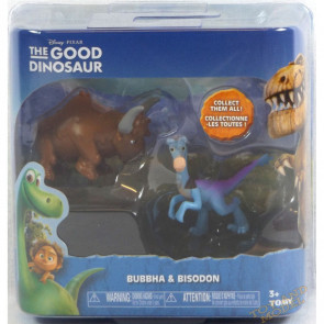 Good Dinosaur Mini Figure 2 Pack Bubbha & Bisodon