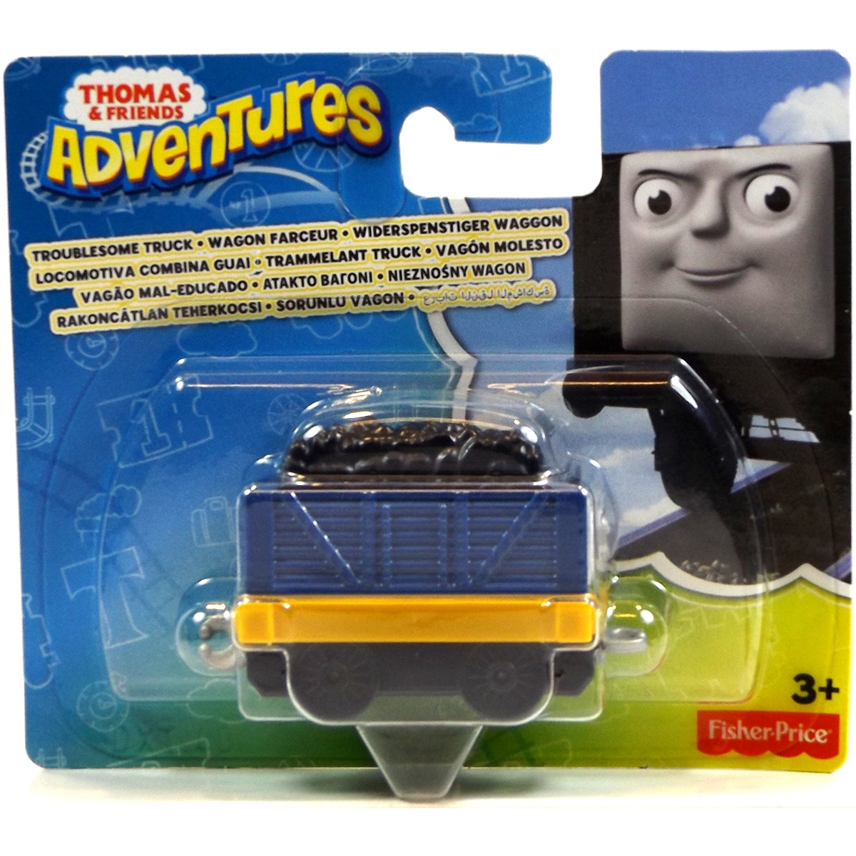Toys And Adventures : Thomas friends adventures troublesome truck engine