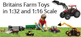 Britains 1:16 and 1:32 Farm Toys