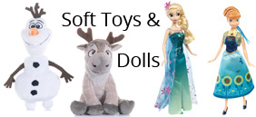 Soft Toys andFashion Dolls